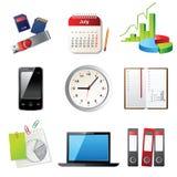 Ícones do escritório Imagem de Stock Royalty Free