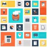 Ícones do escritório Imagens de Stock Royalty Free