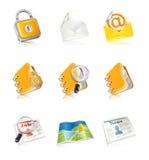 Ícones do escritório & do negócio Imagem de Stock