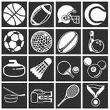 Ícones do esporte Fotografia de Stock Royalty Free
