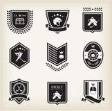 Ícones do esporte do hóquei Fotografia de Stock Royalty Free