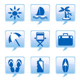 Ícones do feriado Foto de Stock