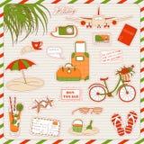 Ícones do feriado Foto de Stock Royalty Free