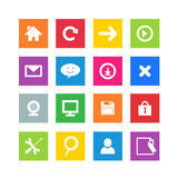 Ícones do jogo Fotografia de Stock