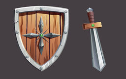 Ícones do jogo Imagem de Stock