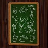 Ícones do menu Fotografia de Stock Royalty Free