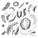 Ícones do moderno ilustração stock