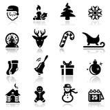 Ícones do Natal Fotos de Stock Royalty Free