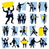 Ícones do negócio Foto de Stock
