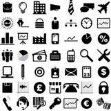 Ícones do negócio Imagens de Stock Royalty Free