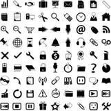 Ícones do negócio Fotografia de Stock
