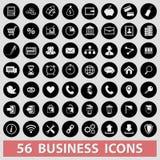 Ícones do negócio ilustração royalty free