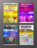 Ícones do negócio e da tecnologia do projeto do inseto, molde criativo d Foto de Stock