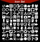 Ícones do projeto ajustados Fotografia de Stock
