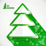 Ícones do projeto do Natal ajustados Cartão do ano novo feliz Foto de Stock