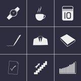 ícones do trabalho Fotos de Stock