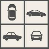 Ícones do transporte do vetor Imagem de Stock