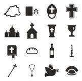 Ícones do Vaticano Fotografia de Stock