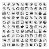 25 ícones do vetor Imagens de Stock