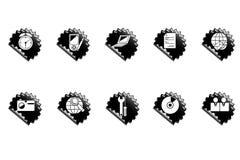Ícones do Web. Ilustração Royalty Free