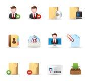 Ícones do Web - colaboração 2 do grupo Fotos de Stock