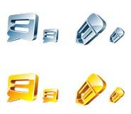 Ícones do Web do vetor Imagem de Stock Royalty Free