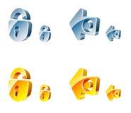 Ícones do Web do vetor Foto de Stock Royalty Free