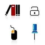 Ícones do Web/elementos do logotipo Imagens de Stock Royalty Free