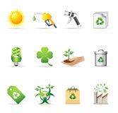 Ícones do Web - mais ambiente Imagem de Stock