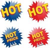 Ícones do Web para o comércio electrónico Fotografia de Stock Royalty Free