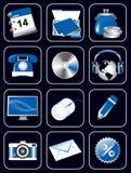 Ícones do Web site Ilustração Stock