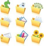 Ícones dos dobradores - 1 Fotos de Stock