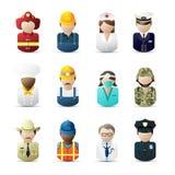 Ícones dos povos Imagem de Stock