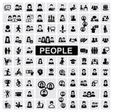Ícones dos povos Foto de Stock Royalty Free