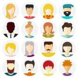 Ícones dos povos Imagens de Stock