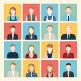 Ícones dos povos Ilustração do Vetor