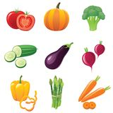 Ícones dos vegetais