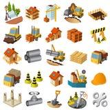 Ícones e puctures arquitetónicos Fotografia de Stock Royalty Free