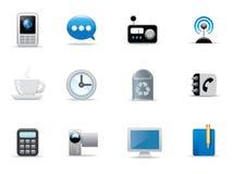 Ícones e teclas Imagens de Stock