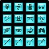 Ícones médicos Foto de Stock