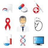 Ícones médicos Fotos de Stock