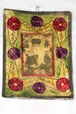 Ícones no templo velho Imagens de Stock Royalty Free