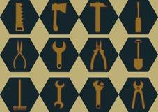 Ícones para o projeto do Web site Foto de Stock Royalty Free