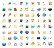 Ícones para a relação Imagens de Stock