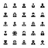 Ícones profissionais 2 do vetor Imagem de Stock Royalty Free