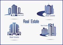 ícones Real Estate Foto de Stock Royalty Free