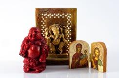Ícones religiosos Imagens de Stock