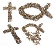 Ícones religiosos Imagens de Stock Royalty Free