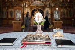 Ícones religiosos Foto de Stock