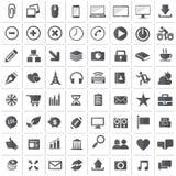 Ícones universais do esboço para a Web e o móbil Fotos de Stock